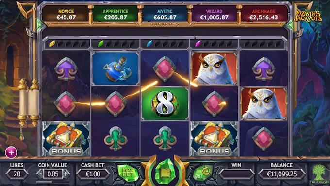 Ozwin Jackpots slot