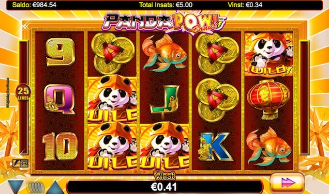 Panda Pow Free Spins