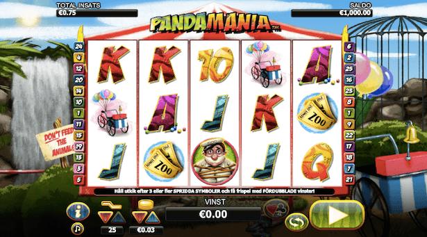 Pandamania Bonus
