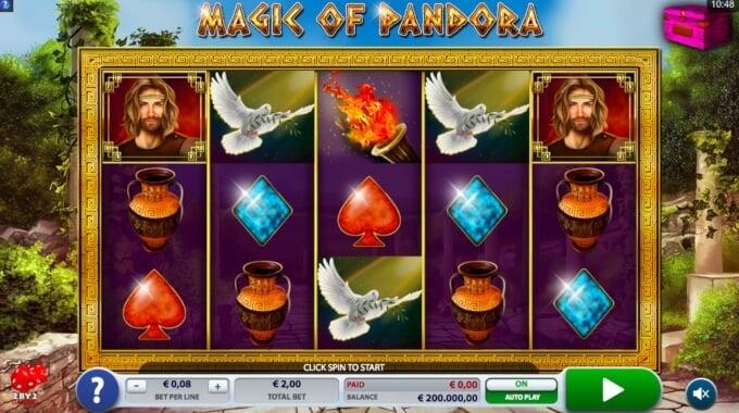 Magic of Pandora Free Spins