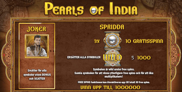 Pearls of India Bonus