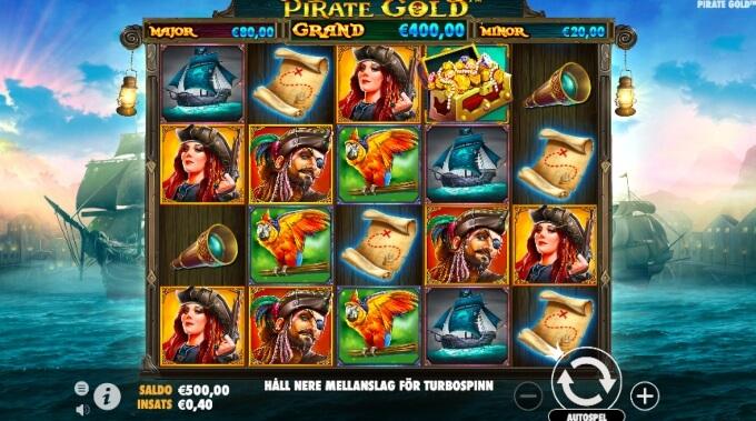 Pirate Gold Slot Bonus Game