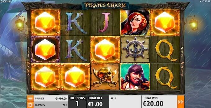 Pirates Charm Free Spins
