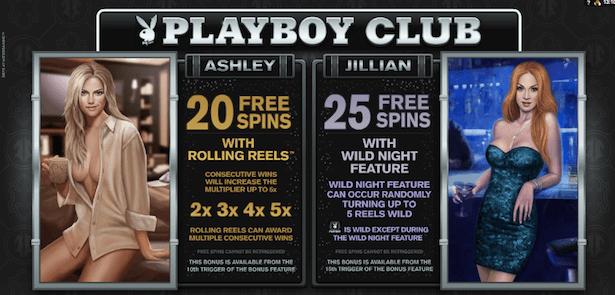 Playboy Online Slot Bonus