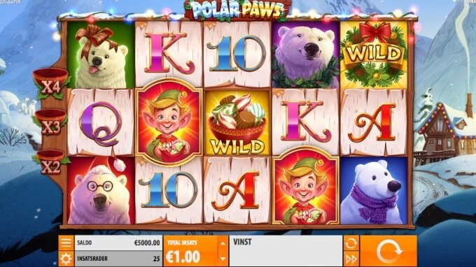 Polar Paws Slot Bonus Game