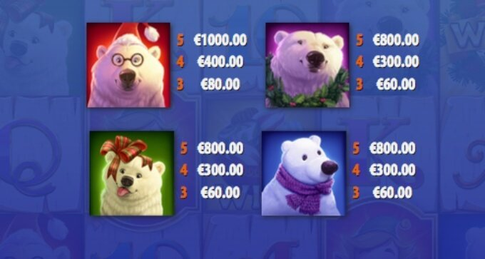 Polar Paws Slot Bonus Symbols