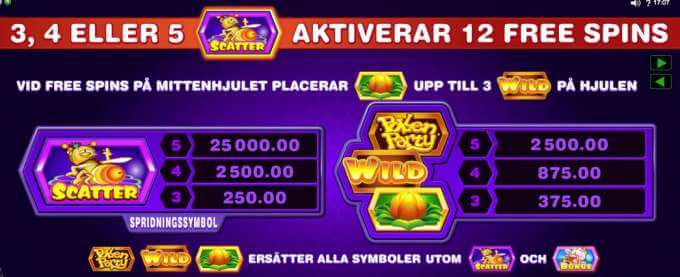 Pollen Party Free Spins