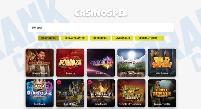 Prank Casino spel
