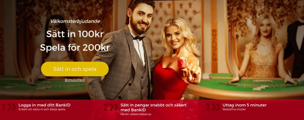 Pronto Live Casino enkel registrering