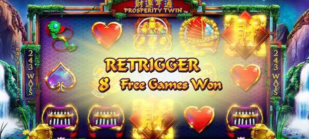 Prosperity Twin Slot Vinst