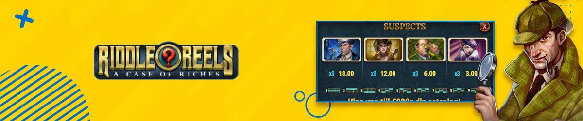 Riddle Reels Slot Bonus