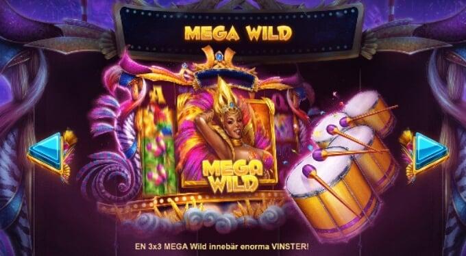 Rio Stars Slot Bonus Mega Wild