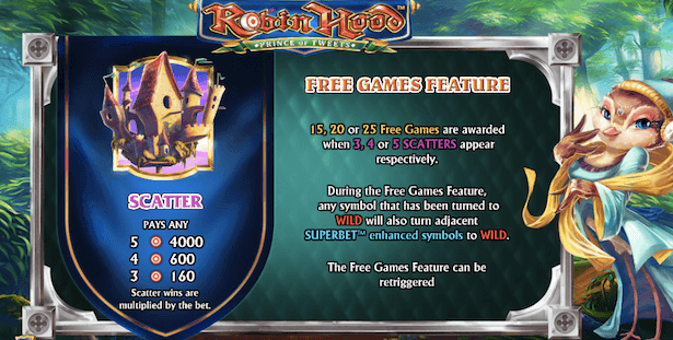 Robin Hood the Prince of Tweets Bonus