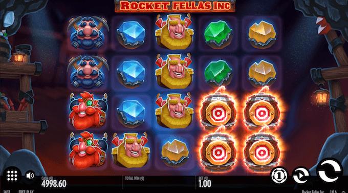 Rocket Fellas spelbord