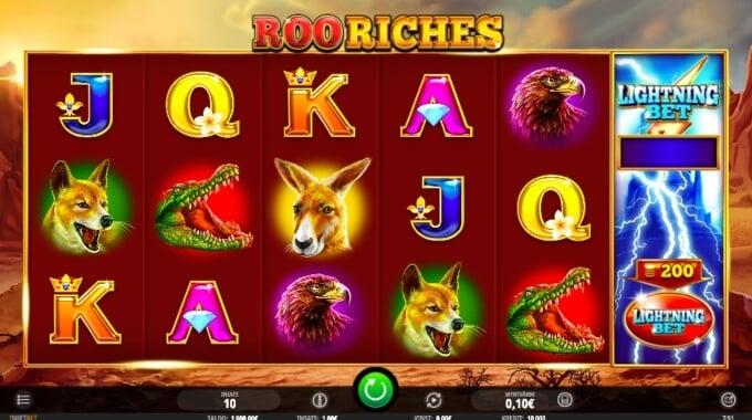 Roo Riches Slot Bonus Game