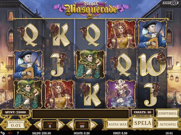 Royal Masquerade Bonus