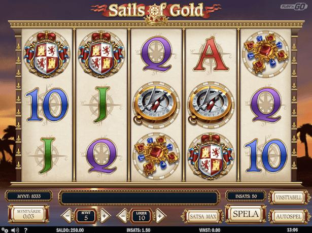 Sails of Gold Bonus