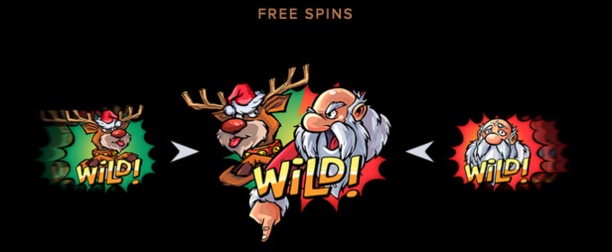 Santa vs Rudolf Slot Bonus Free Spins