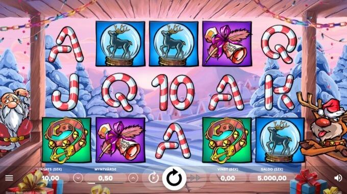 Santa vs Rudolf Slot Bonus Game