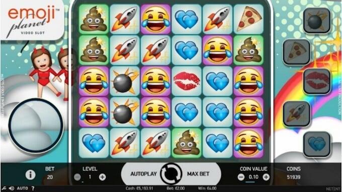 Emojiplanet slot spelplan