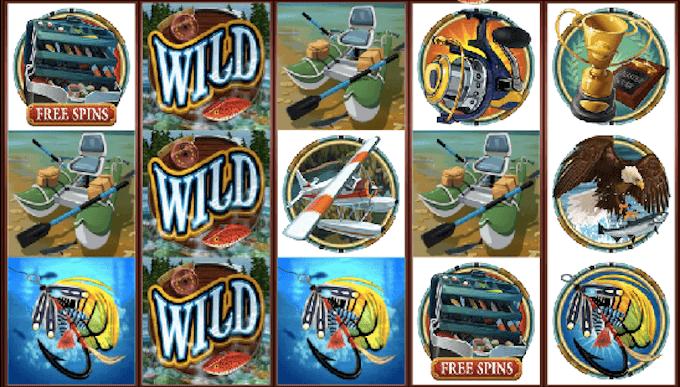 Alaskan Fishing spelplan