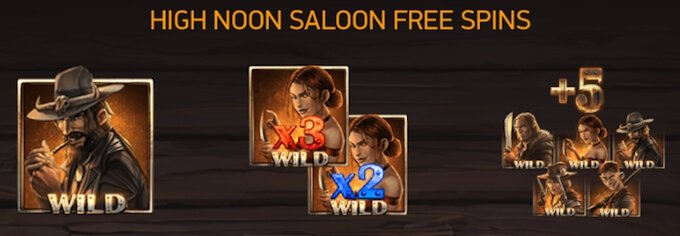 Dead or Alive 2 free spins