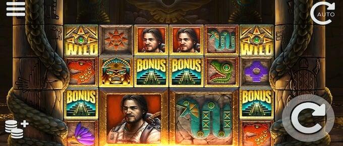 Ecuador Gold Slot symboler