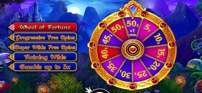 Fairytale Fortune bonus