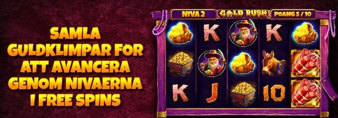 Gold Rush free spins