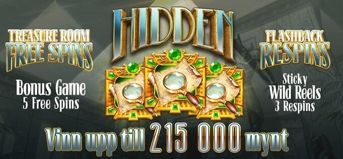 Hidden bonusfunktioner