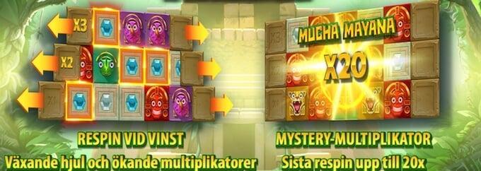 Mayana slot bonus
