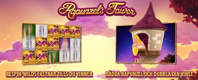 Rapunzel's Tower bonusfunktioner