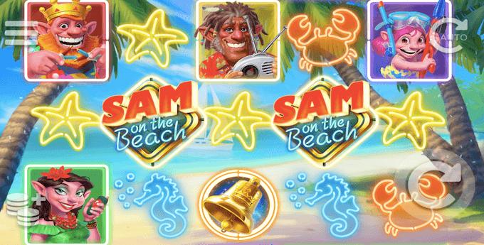 Sam on the Beach spelplan