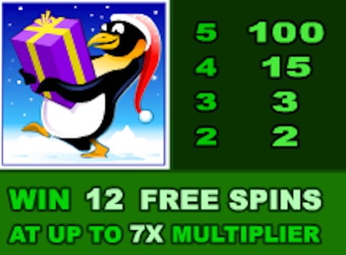 Santa Paws free spins