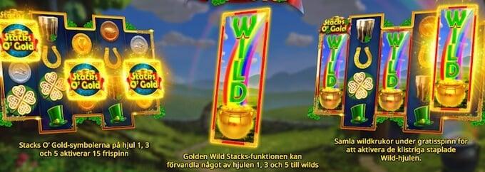 Stacks O' Gold slot free spins