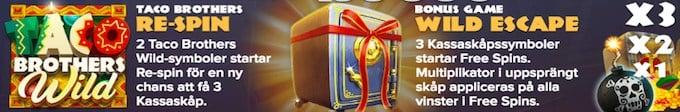 Taco Brothers Saving Christmas free spins