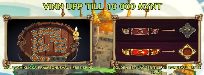 Trolls Bridge bonusspel