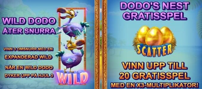 Wild Dodo bonus