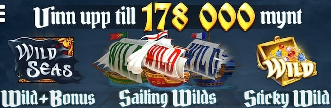 Wild Seas bonusfunktioner