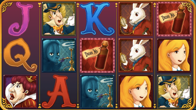Alice Adventure spelplan