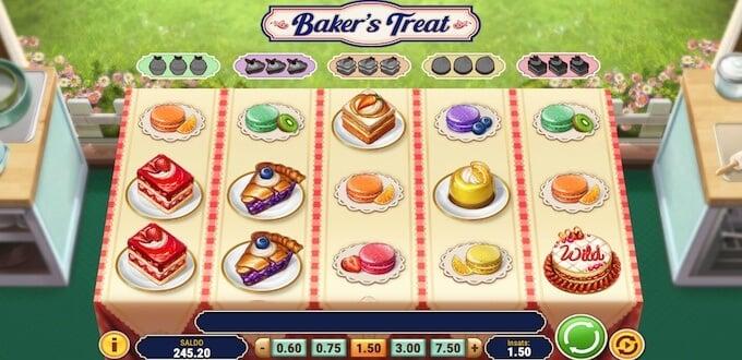 Baker's Treats symboler