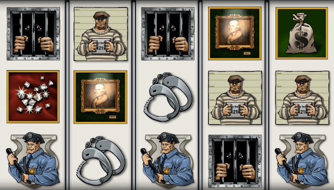 Cops n Robbers spelplan