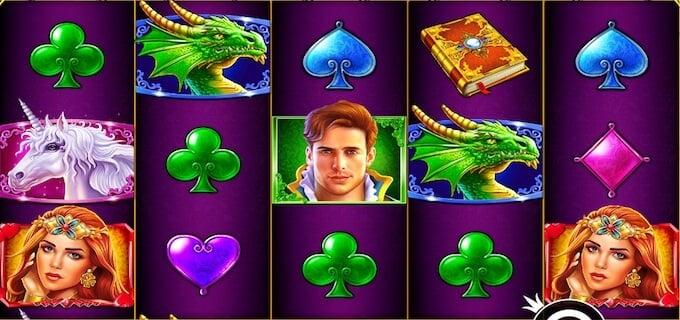 Fairytale Fortune symboler