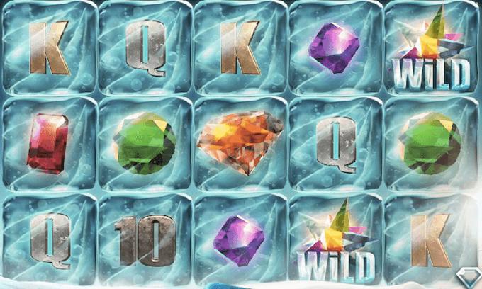 Frozen Diamonds spelplan