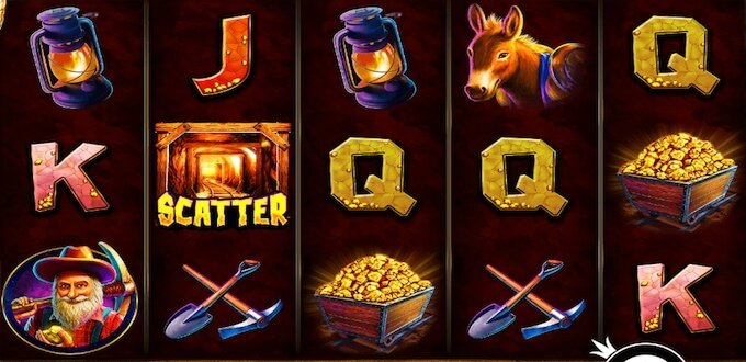 Gold Rush spelplan