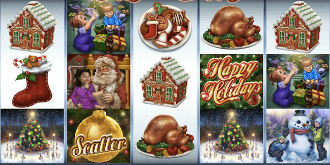 Happy Holidays spelplan