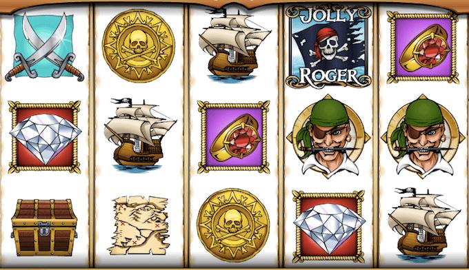 Jolly Roger spelplan