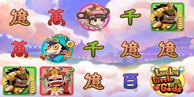 Lucky Little Gods slot symboler