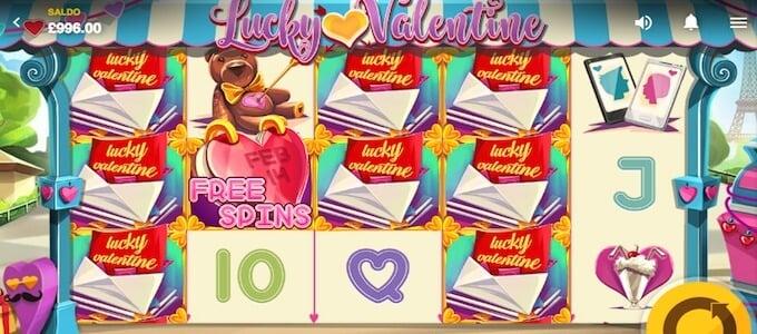 Lucky Valentine symboler