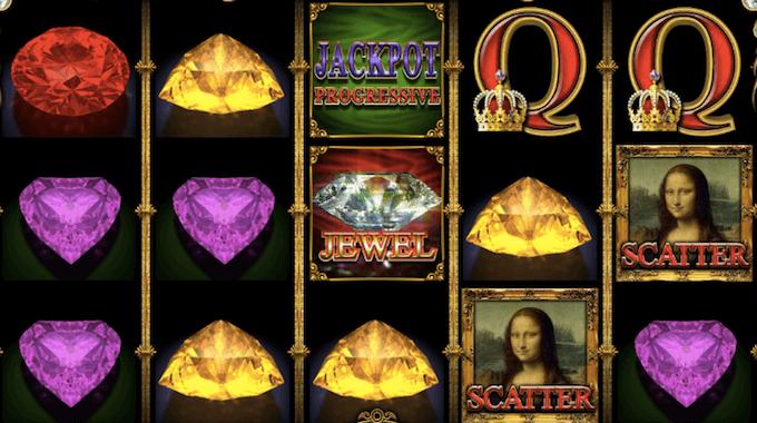 Mona Lisa Jewels spelplan